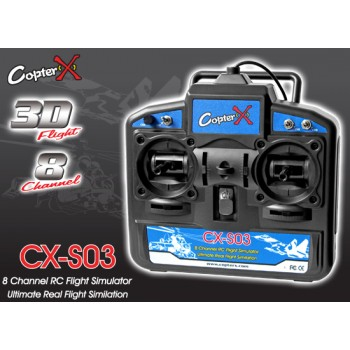 CopterX (CX-S03) 8-Channel 3D Flight USB RC Flight SimulatorCopterX CX 250 Flybarless Parts