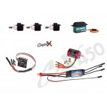 CopterX (CX450-FB-PK-V1) 450 Flybar Electronic Parts Package for CX450SE/AE/ME, CX450BA