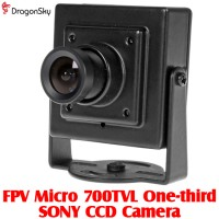 DragonSky (DS-FPV-CAM-700TVL) FPV Micro 700TVL One-third SONY CCD Camera