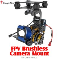DragonSky (DS-FPV-CM-GOPRO3) FPV Brushless Camera Gimbal for GoPro HERO3