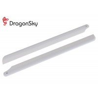 DragonSky (DS-M-360W-01) Wooden Main Rotor Blades 360mm