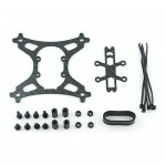 KINGKONG 90GT Carbon Fiber Frame Kit Set 90mm Racing Drone Spare Part