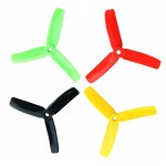 20PCS (10 Pairs) Kingkong 4040 4x4x3 3-Blade Props Tri-Props Propellers for FPV Racing