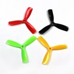 20PCS (10 Pairs) Kingkong 4045 4x4.5x3 3-Blade Props Tri-Props Propellers for FPV Racing