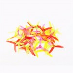 20PCS (10 Pairs) Kingkong 5040 5x4x3 3-Blade Clear Single Color Props Tri-Props Propellers for FPV racing