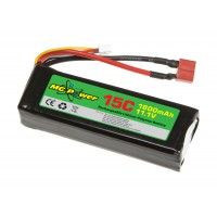 MG Power (MG-111-15-1800) 11.1V 15C 1800mAh Li-PO Battery