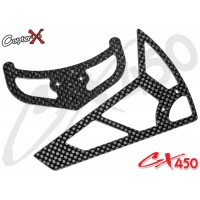 CopterX (CX450-06-03) Carbon Stabilizer Set