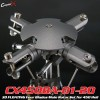 CopterX (CX450BA-01-20) 3D FLOATING Four Blades Main Rotor Set for 450 HeliFlybarless / Multi-blades