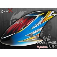 CopterX (CX450BA-07-16) Black Angel DFC Prepainted Glass Fiber Canopy