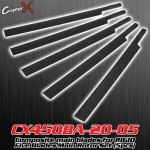 CopterX (CX450BA-20-05) Composite main blades for RIGID Five Blades Main Rotor Set (5pcs)