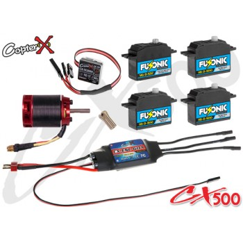 CopterX (CX500EPP-V3) 500 Flybar Electronic Parts Package V3CopterX Electronic Parts