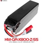 WALKERA (HM-QR-X800-Z-55) Li-Po Battery (22.2V 10000mAh 10C)