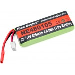 Nine Eagles (NE480105) 2S 7.4V 600mAh Li-Po Battery