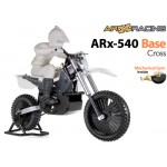 AR Racing (AR-ARX001) ARX 540 BASE 1/4th Scale Electric Motorbike Kit with Mechanical Gyro - Cross