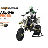 AR Racing (AR-ARX013) ARX 540 PRO 1/4th Scale Electric Motorbike Kit with Mechanical Gyro - Cross