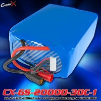 CopterX (CX-6S-20000-30C-1) 22.2V 30C 20000mAh Li-Polymer Battery for DJI S1000