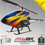 CopterX CX 450PRO V5 DFC Flybarless Torque Tube Version 2.4GHz RTF
