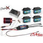 CopterX (CX500EPP-FBL-V3) 500 Flybarless Electronic Parts Package V3