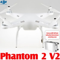 DJI Phantom 2 V2 2.4G with Wheeled Aluminium Carrying Case