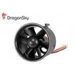 DragonSky (DS-DF-3000KV) Ducted Fan Unit 6 Blades 66mm with 3000KV Brushless Motor