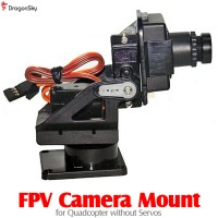 DragonSky (DS-FPV-CM-QUAD) FPV Camera Mount for Quadcopter without Servos