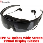 DragonSky (DS-FPV-GLASSES-52INCH) FPV 52 Inches Wide Screen Virtual Display Glasses