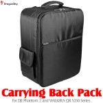 DragonSky (DS-P2-BP-BK) Carrying Back Pack for DJI Phantom 2 and WALKERA QR X350 Series (Black)