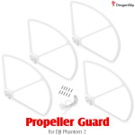 DragonSky (DS-P2-PG-W) Propeller Guard for DJI Phantom 2 (White)