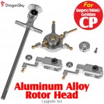 DragonSky (DS-SUPER-CP-RH-S) Super CP / Mini CP / Genius CP Aluminum Alloy Rotor Head Upgrade Set (Silver)