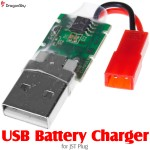 DragonSky (DS-USB-JST) USB Battery Charger for JST Plug