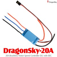 DragonSky (DragonSky-20A) 20A Brushless Motor Speed Controller ESC with BEC