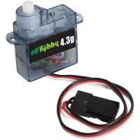 Elf Hobby 4.3G Mini / Micro Size  High Torque Analog Servo 4.3G 0.8KG 0.1sec
