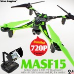 Nine Eagles Galaxy Visitor 6 4CH FPV Quadcopter (Green, Mode 2)
