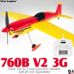 Nine Eagles 760B EDGE 540 3G Airplane (Red Yellow, Mode 2)