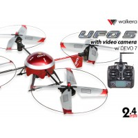 WALKERA UFO 5 w/ DEVO 7 Transmitter RTF w/ Video Camera - 2.4GHz