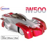 WECCAN (WC-IW500-R) iPhone/ iPad/ iPod controlled Wall Climbing Radio Control Car Infrared RTF (Red)