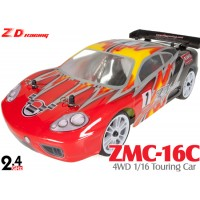 ZD Racing (ZD-16426) ZMC-16C 4WD 1/16 Scale Brushed Electric Touring Car RTR - 2.4GHz